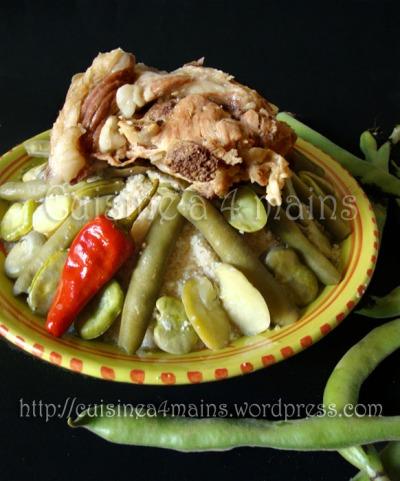 couscous aux fêves - cuisine à 4 mains