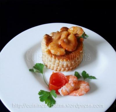 feuilletés aux fruits de mer 3 - cuisine à 4 mains copie copie