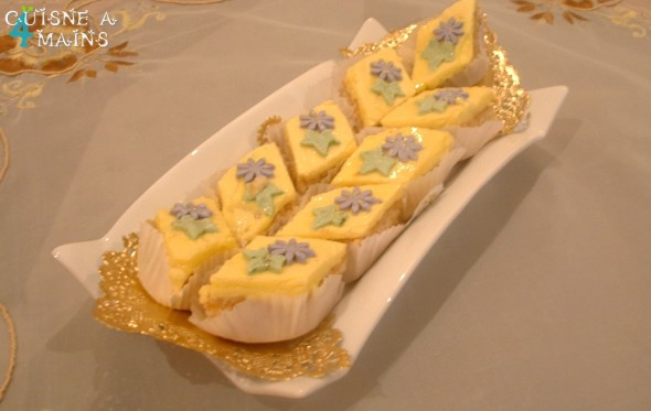 Gourmandises aux cacahu tes castel g teau alg rien - Decoration gateau traditionnel algerien ...