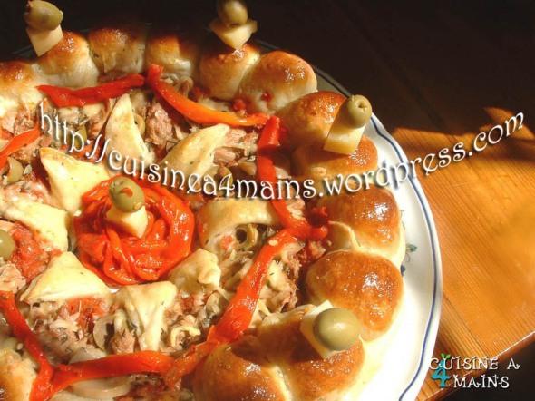 Pizza royale cuisine 4 mains - Une royale en cuisine ...