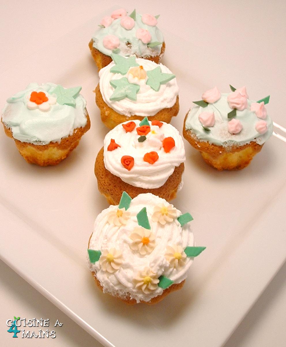 Cupcakes printaniers cuisine 4 mains for Cuisine 04 mains