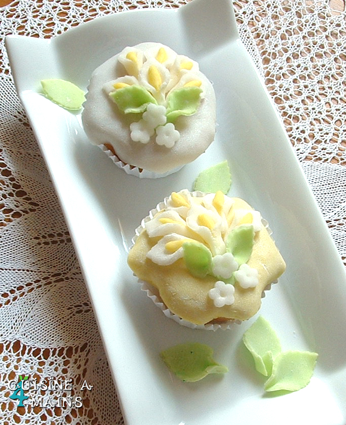 Le lys dans la vall e cupcakes citron pistache cuisine for Cuisine 04 mains