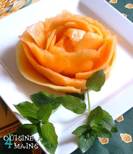 rose au melon Melon2