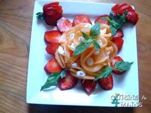 rose au melon Melonfraise6
