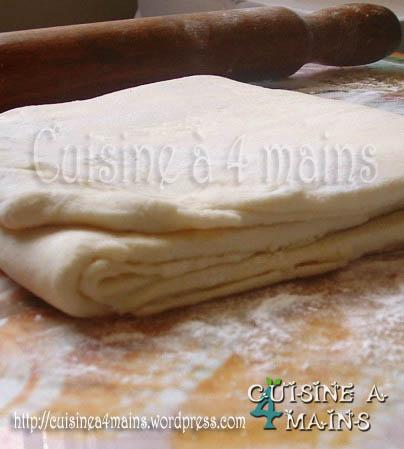 pate feuilletée    cuisine à 4 mains.