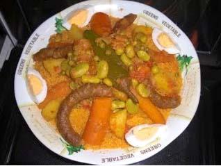 couscous au kaddid de miss gourmandise