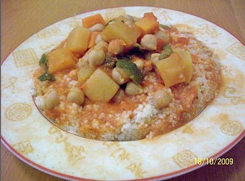 couscous aux légumes de souska