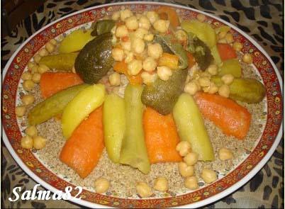 couscous d'orge aux7légulmes de salma82