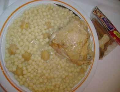 berkoukes sauce blanche
