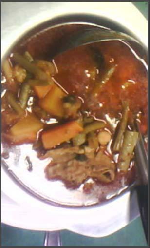 couscous au boeuf et haricots de miamana