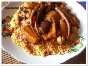 Couscous au poulpe (soumia)