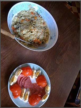 couscous kabyle aux légumes vapeur de miamana