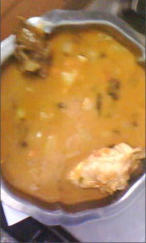 couscous viande séchée et poulet de miamana