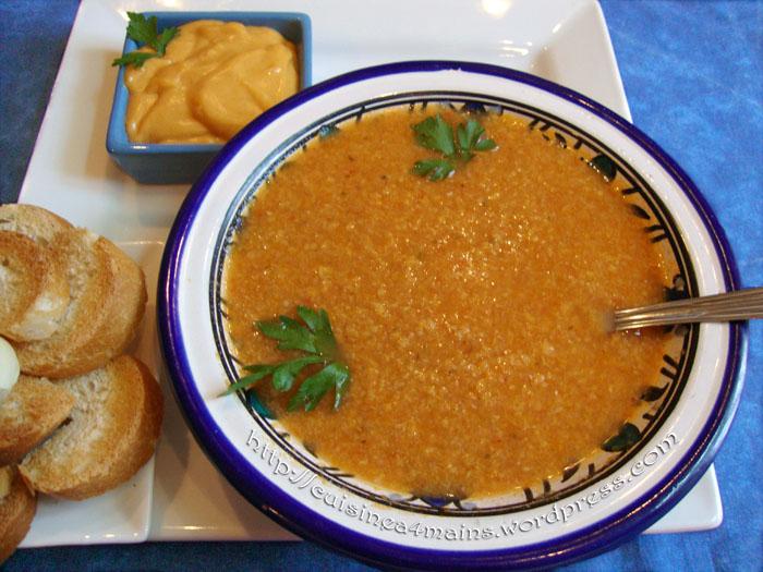 Soupe de poisson1 cuisine 4 mains for Cuisine 4 mains