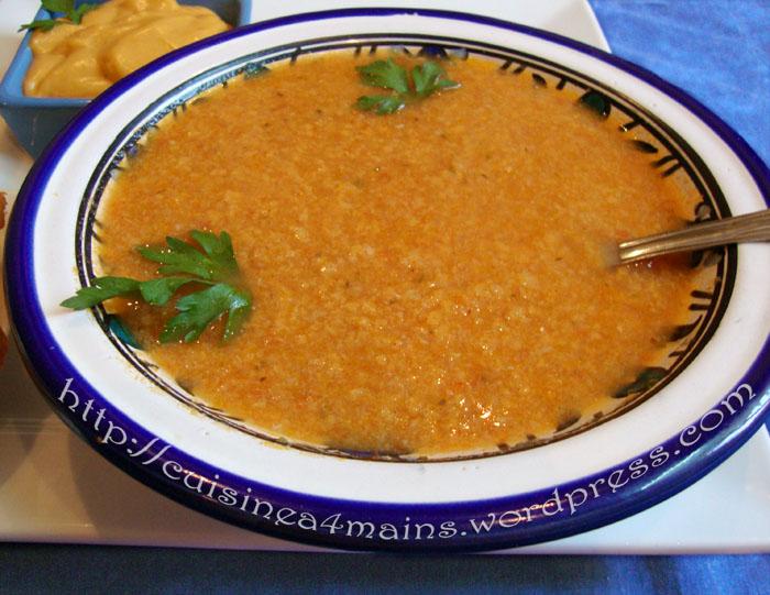 Soupe de poisson la proven ale et sa rouille cuisine - Cuisine soupe de poisson ...