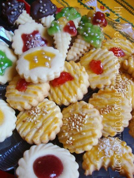 Farandole de petits biscuits cuisine 4 mains for Cuisine 04 mains