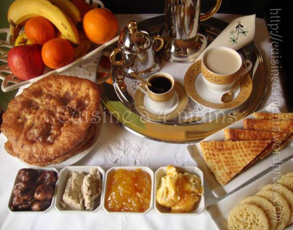petit déjeuner au maghreb - cuisine à 4 mains copie