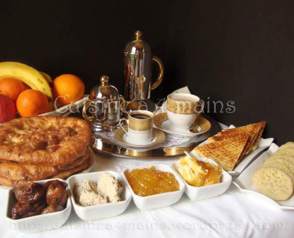 petit dejeuner au maghreb2 - cuisineà 4 mains