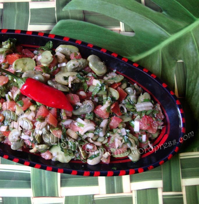 Cuisine du soleil salade de f ves vertes cuisine 4 mains for Soleil en cuisine