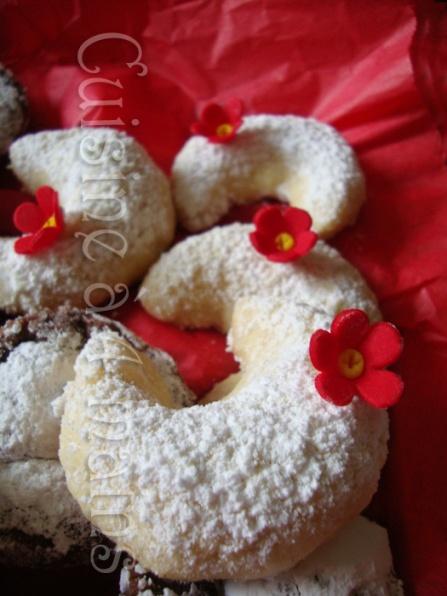 Comme promis voici un des biscuits que j'ai préparé pour le daring