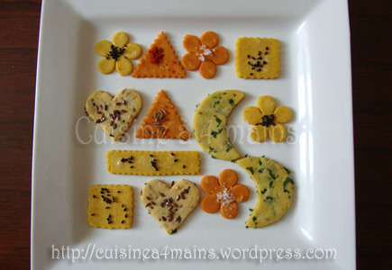 crackers 2 cuisine à 4mains