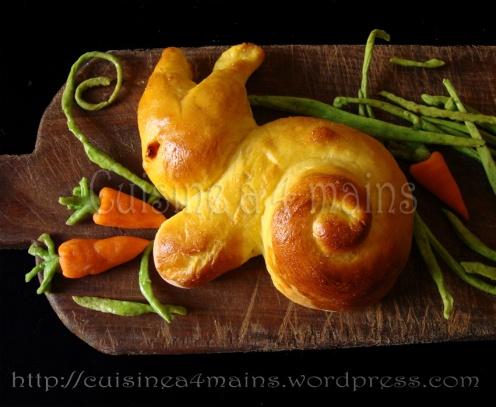lapin 1 cuisine à 4 mains