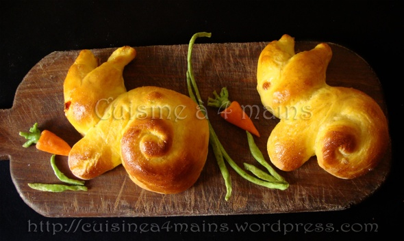 lapin 4 cuisine à 4 mains