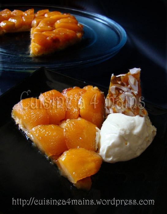 tarte tatin façon Michalak 2  - cuisine à 4 mains