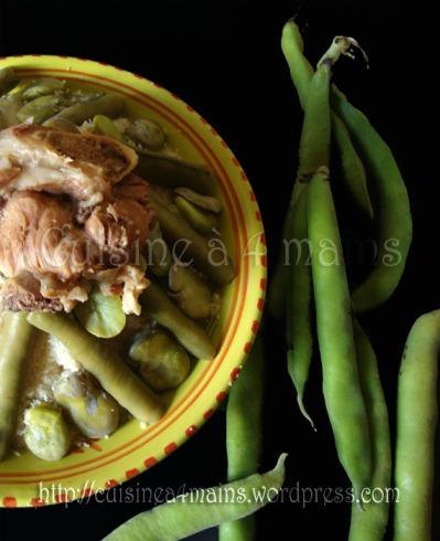 couscous aux fêves 2 - cuisine à 4 mains