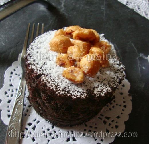 crazy cake 4 cuisine à 4 mains