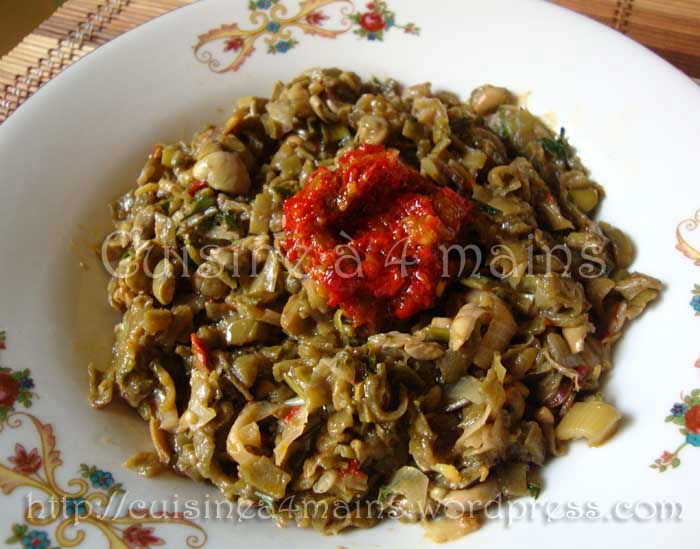 Ross lebratel un d licieux plat de f ves alg rien - Cuisiner les feves fraiches ...