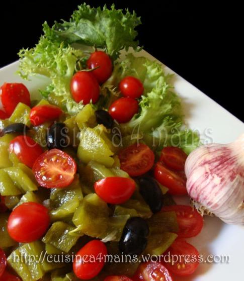 salade de poivron3 - cuisine à 4 mains