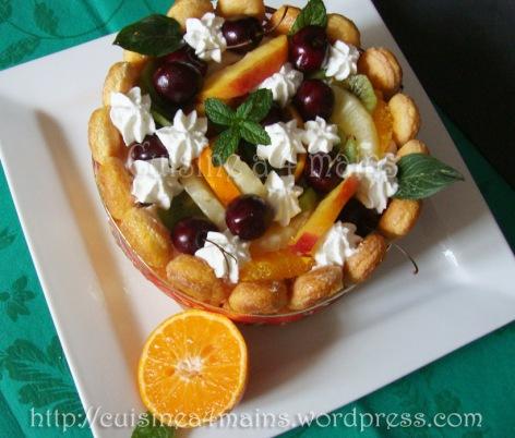 charlotte glacée aux fruits 8  - cuisine à 4 mains