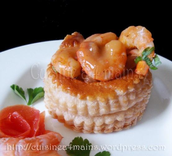 feuilletés aux fruits de mer 5 - -  cuisine à 4 mains copie