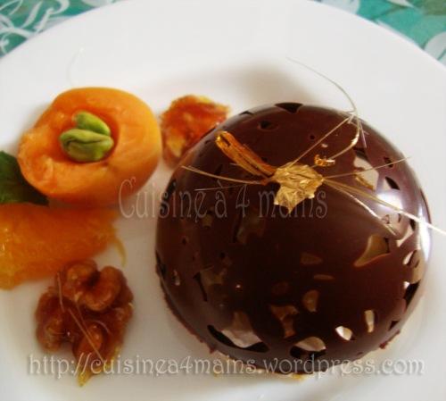 glace sous chocolat 10  cuisine à 4 mains