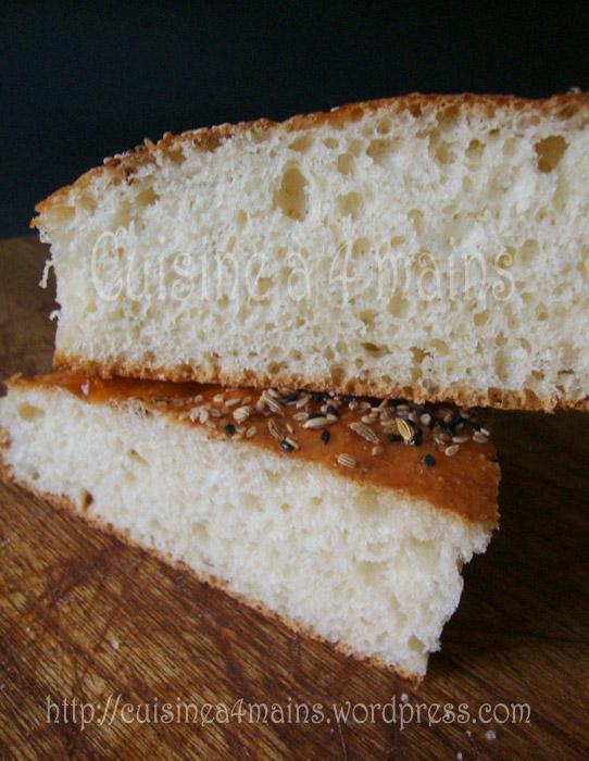 pain sans pétrissage1  cuisine à 4 mains