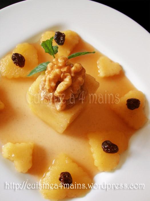 Tajine de pommes farcies aux noix cuisine 4 mains for Cuisine 4 mains