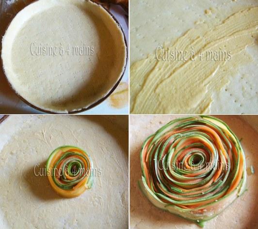 tarte aux légumes en spirale 8  cuisine à 4 mains