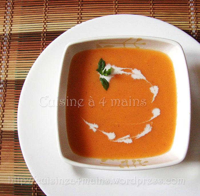 soupe à la tomate3  - cuisine à 4 mains copie