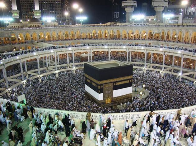 tayaf el 9oudoum dès l'arrivée à la Mecque