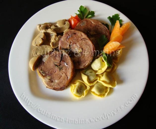 épaule d'agneau4  cuisine à 4 mains