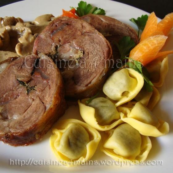 épaule d'agneau5 cuisine à 4 mains