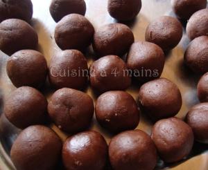 biscuits craquelés au chocolat3   cuisine à 4 mains