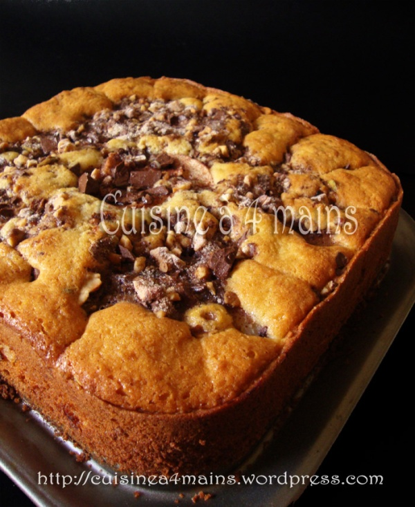 coffee cake7  - cuisine à 4 mains