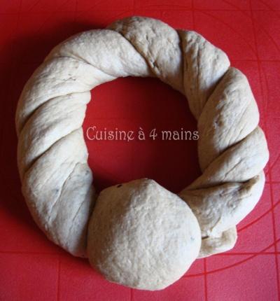 couronne d'automne 10  - cuisine à 4 mains