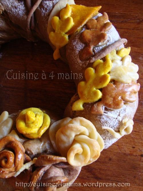 couronne d'automne 5 - cuisine à 4 mains