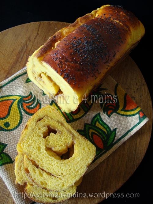 pain au potiron1 -  cuisine à 4 mains