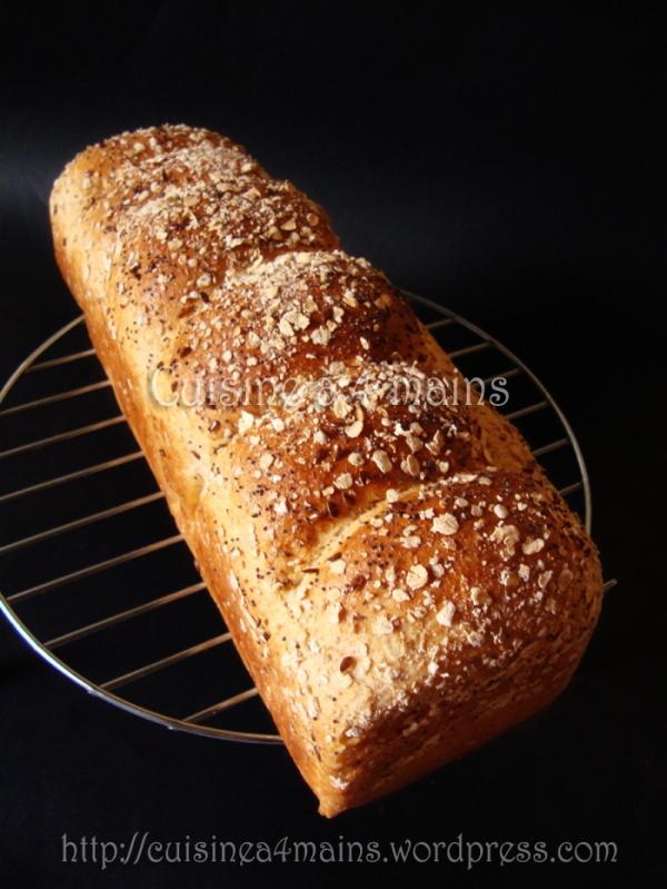 pain de mie 1 - cuisine à 4 mains