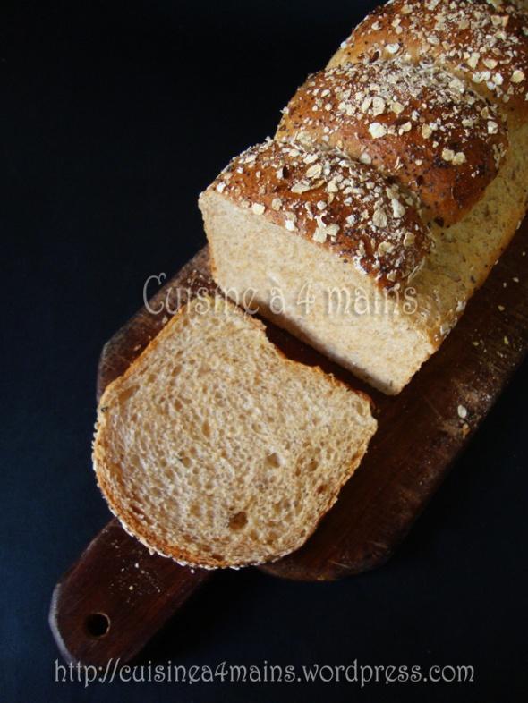 pain de mie 2 - cuisine à 4 mains