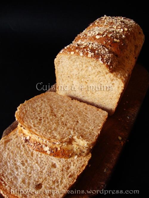 pain de mie 6 - cuisine à 4 mains